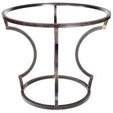 table base for round table iron table base styles to love artisan crafted iron furnishings