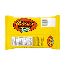 reese easter egg reese s easter peanut butter eggs 10 8 oz walmart