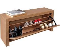Shoe Bench Uk Buy Home Cuban Shoe Storage Cabinet Oak Effect At Argos Co Uk