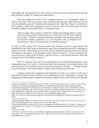Immigration Special Daca U0027s Five Year Anniversary More Than 100 Law Professors Support