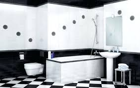 black white and bathroom decorating ideas black and white bathroom decorating ideas black stained wooden