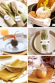 beautiful place settings for thanksgiving place setting