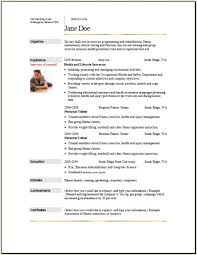 college resume for athletes free traditional sports coach resume