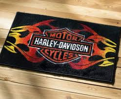 Harley Davidson Curtains And Rugs Harley Davidson Rugs Rugs Ideas