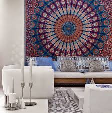 Where To Get Cheap Tapestry Indian Mandala Bedspread Tapestry Wall Hanging Hippie Bohemian