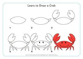 learn to draw a crab how to draw pinterest doodles draw and