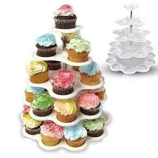 5 tier cupcake stand 5 tier plastic cupcake stand 5 tiered tower white cupcake holder