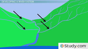definition pattern of drainage drainage basins definition characteristics video lesson