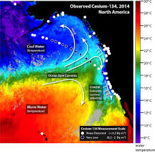 Fukushima Radiation Map Traces Of Fukushima Radiation Detected Off California Coast