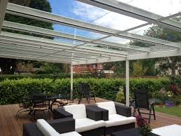 Transparent Patio Roof Terrace Covers Polycarbonate U0026 Glass Verandas Fixed Roof