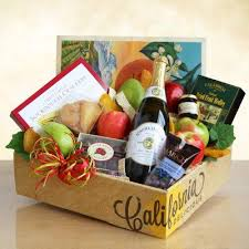 california gifts sparkling fruit gift basket by california delicious 4807 fruit