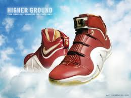 nike zoom lebron iv ctk christ king sneakerfiles