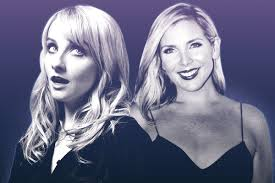 melissa rauch talks to june diane raphael about failed law u0026 order