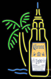 palm tree neon light corona light with palm tree neon sign neonsigns usa inc