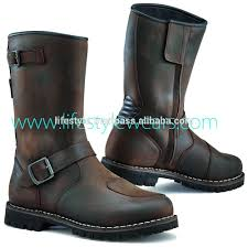 mens leather motorcycle riding boots spiked genuine leather riding boots genuine leather riding boots