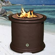 Propane Outdoor Firepit California Outdoor Concepts Island 28 Inch Propane Pit