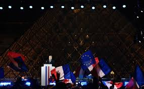 Flag Of The European Union Emmanuel Macron Embraces E U To Put France U0027back In The Picture