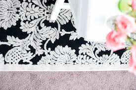 Damask Area Rug Black And White Nourison Graphic Illusions Damask Rug Review Monica Wants It