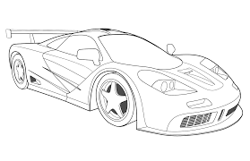 race car coloring pages number one coloringstar