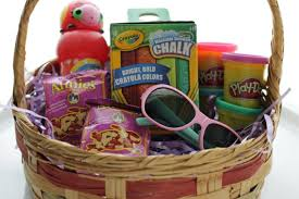 ideas for easter baskets for toddlers easter basket ideas for toddlers
