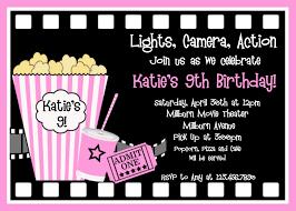 movie ticket party invitation template free unusual srilaktv com