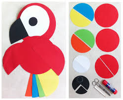 best 25 parrot craft ideas on pinterest bird crafts preschool