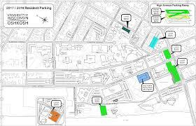 Durant Wyoming Map Uw Oshkosh Map Campus Maps Uw Oshkosh Uwo Parkingmap Map