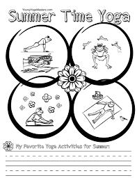 free kids yoga alphabet printables for summer young yoga masters