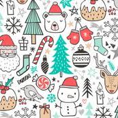 christmas tree fabric wallpaper u0026 gift wrap spoonflower