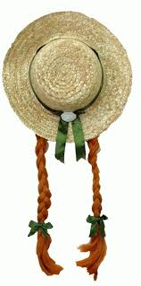 the book this pin is so of green gables straw hat