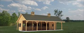 Small Barn Houses Small 4stall Barn Horse Barn And Stable Designs Equine Stables
