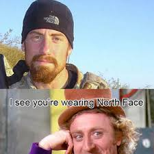 North Face Jacket Meme - north face meme face best of the funny meme