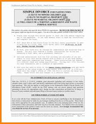lovely gallery of divorce settlement agreement template business