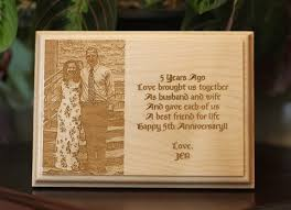customized plaques with photo custom engraved wooden plaque portrait in a flash laser