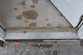 Exterior Door Threshold Installation Exterior Door Threshold Install Dayri Me