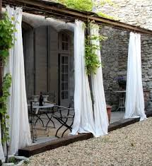 Outdoor Sheer Curtains For Patio 4 Good Ways To Get Rid Of Mosquitoes In Your Yard White Curtains