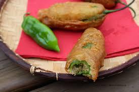 recette cuisine creole reunion piments farcis à la créole réunion ma cuisine bleu combava