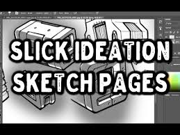 fast and easy ideation page sketch rendering youtube