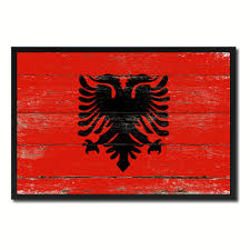 Andorra Flag Andorra Country Texture Flag Rustic Vintage Giclée Print Home