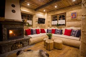 wonderful rustic log house by expedition architecture