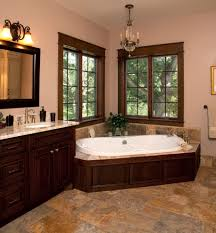 pink and brown bathroom