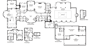 3d floor plan of a celeb mansion u2013 modern house