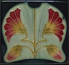 Art Deco Tile Designs Motawi Frank Lloyd Wright Tile March Balloons Art Pinterest