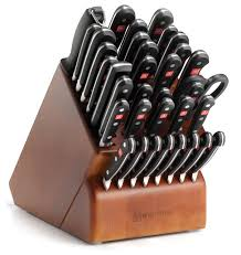 wusthof kitchen knives wusthof classic thirty six block set contemporary knife