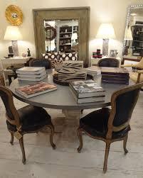 custom round dining tables zinc top dining table with custom round smooth zinc top dining table