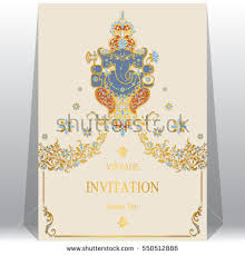 Indian Wedding Card Template Indian Wedding Card Stock Images Royalty Free Images U0026 Vectors