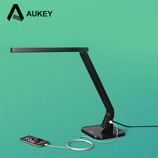 led light desk l aukey lt t1 led desk l with usb charger for protect child shield
