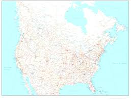 Usa Map Online by Usa And Canada Cities Map Us Entrancing Map Of Canada With Cities