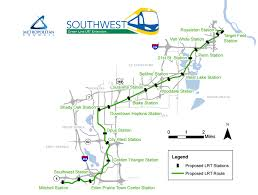 Light Rail Map Minneapolis Committee Looking To Cut Last Two Stations From Proposed Green