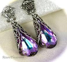 purple earrings best earrings purple photos 2017 blue maize